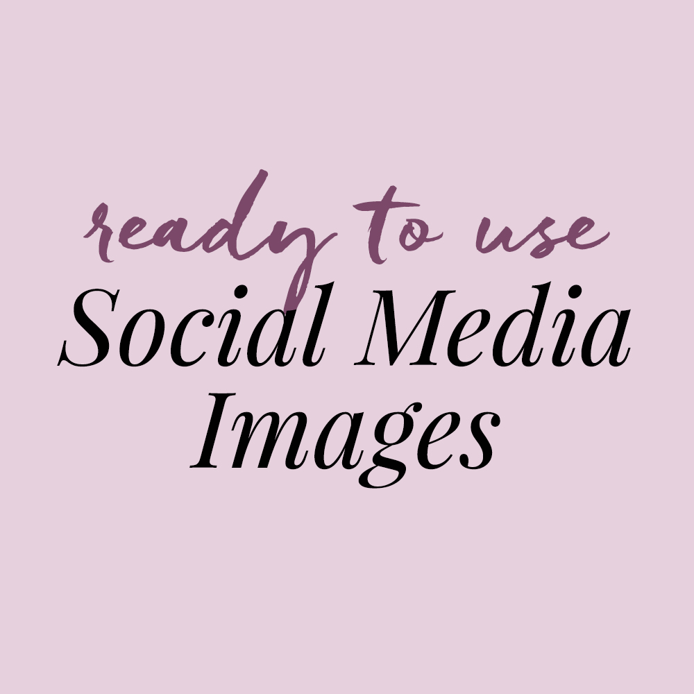 Ready To Use Social Media Images